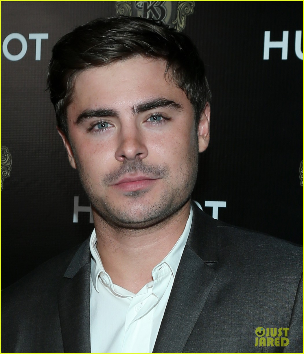 zac efron hublots new brand ambassador celebration 08