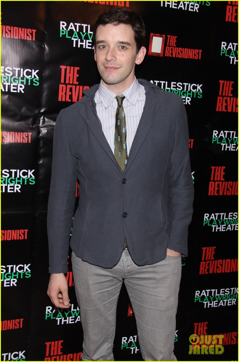 jesse eisenberg the revisionist opening night 09