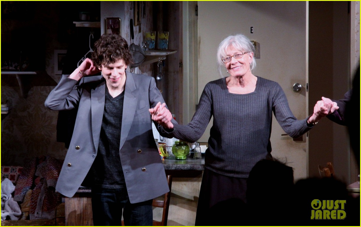 jesse eisenberg the revisionist opening night 132822873