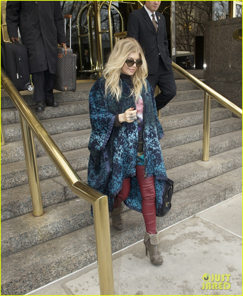 fergie good morning america appearance 012835569