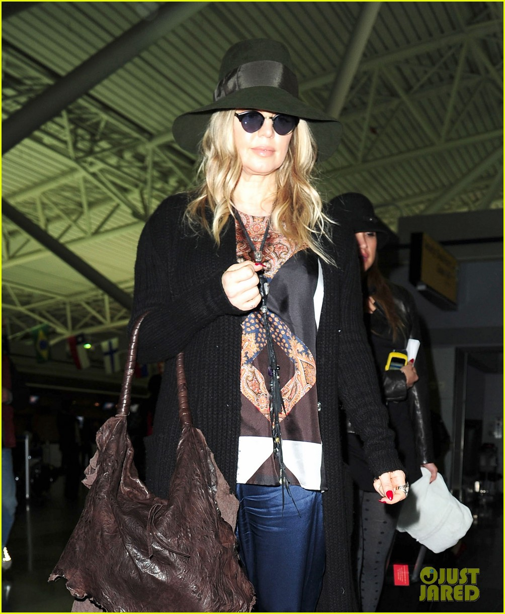 fergie nyc arrival for gma 022834946