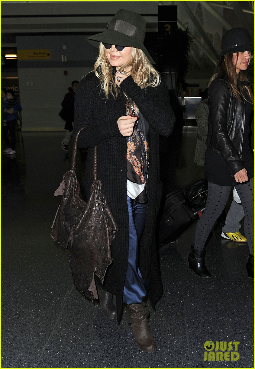 fergie nyc arrival for gma 072834951