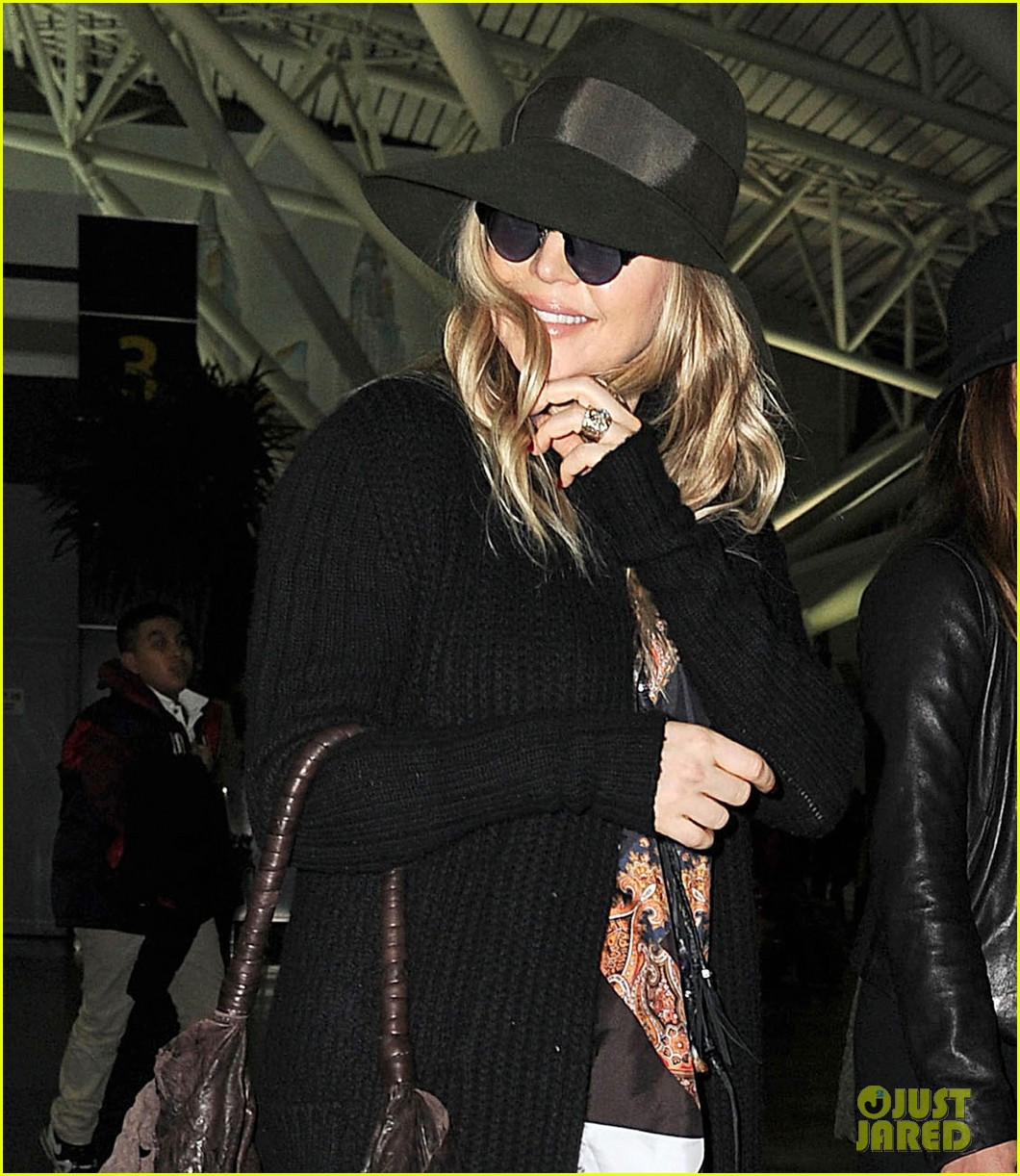 fergie nyc arrival for gma 102834954