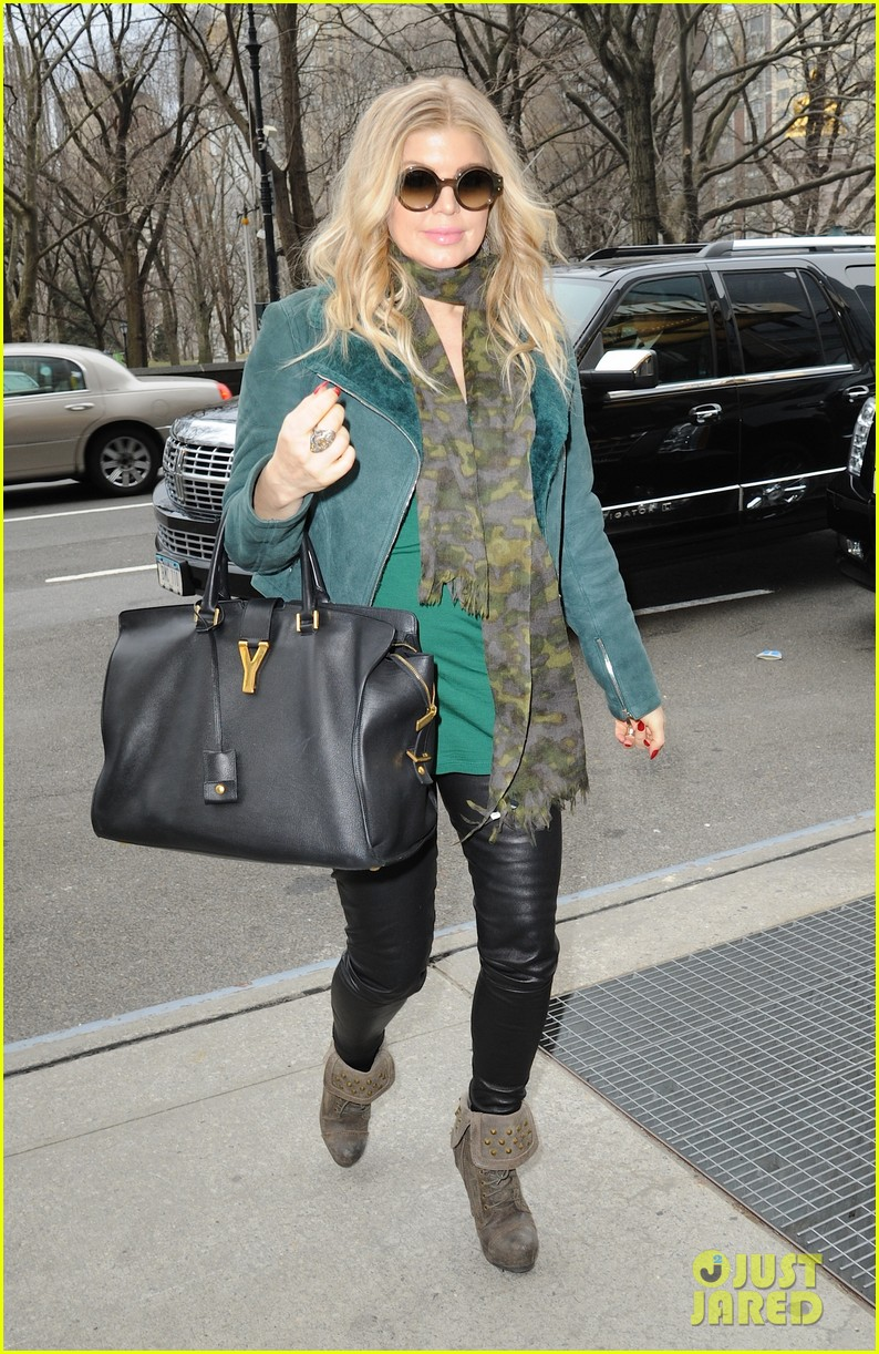 fergie on her pregnancy i have no idea what im doing 012835137