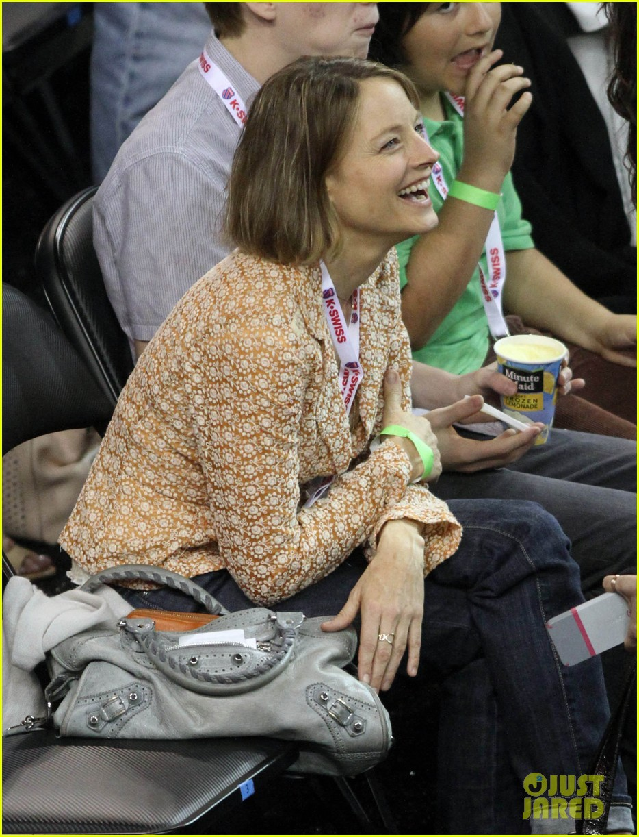 jodie foster errands after tennis match with charlie kit 152826670