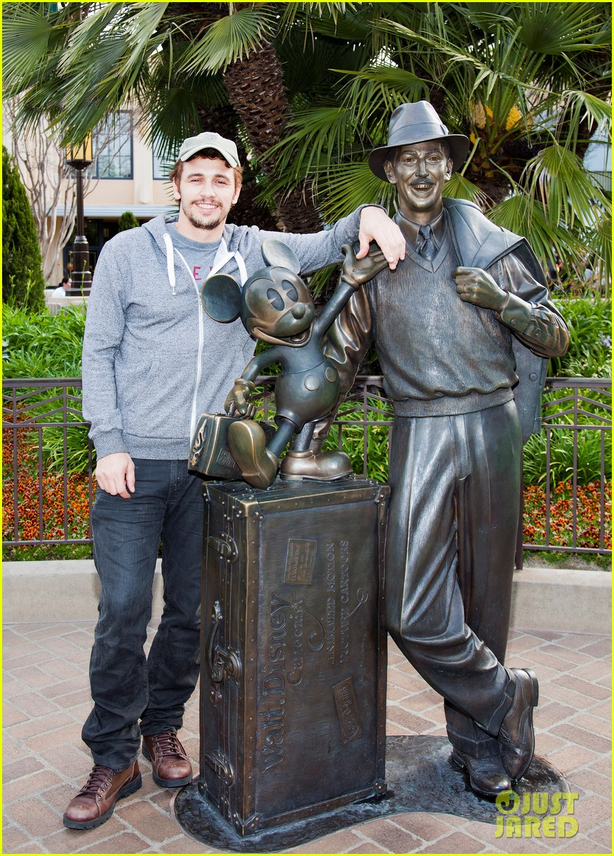 james franco visits disney after releasing new book 01