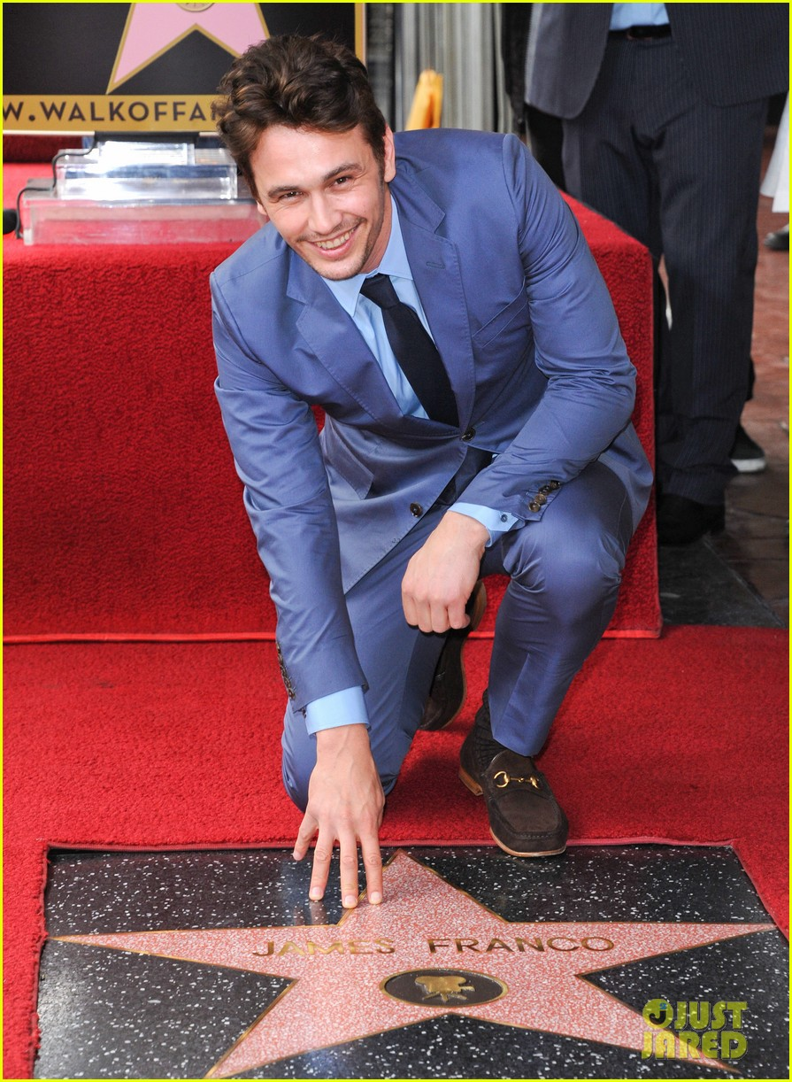 james franco hollywood walk of fame star ceremony 01