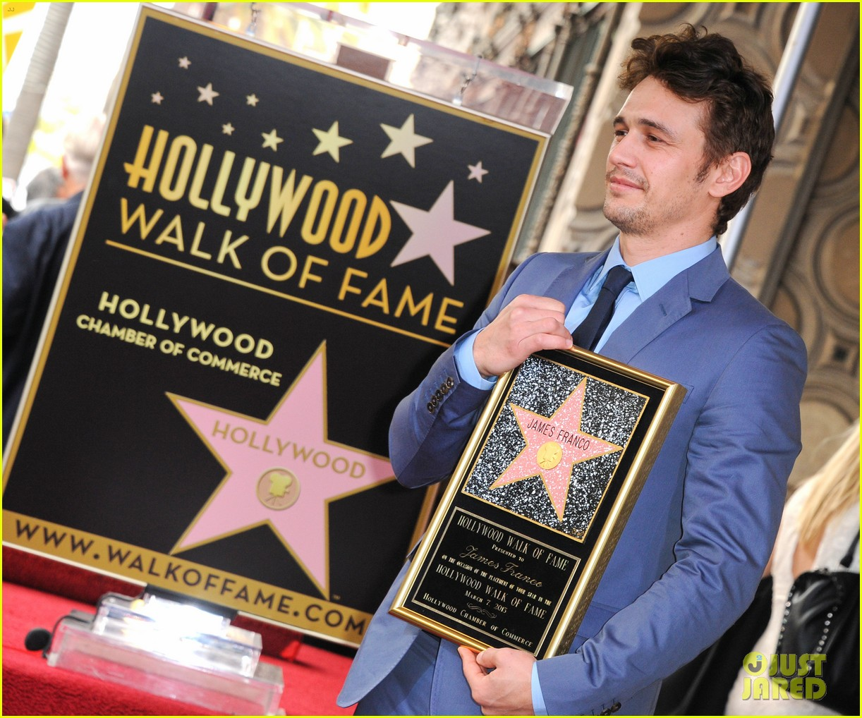 james franco hollywood walk of fame star ceremony 092826846