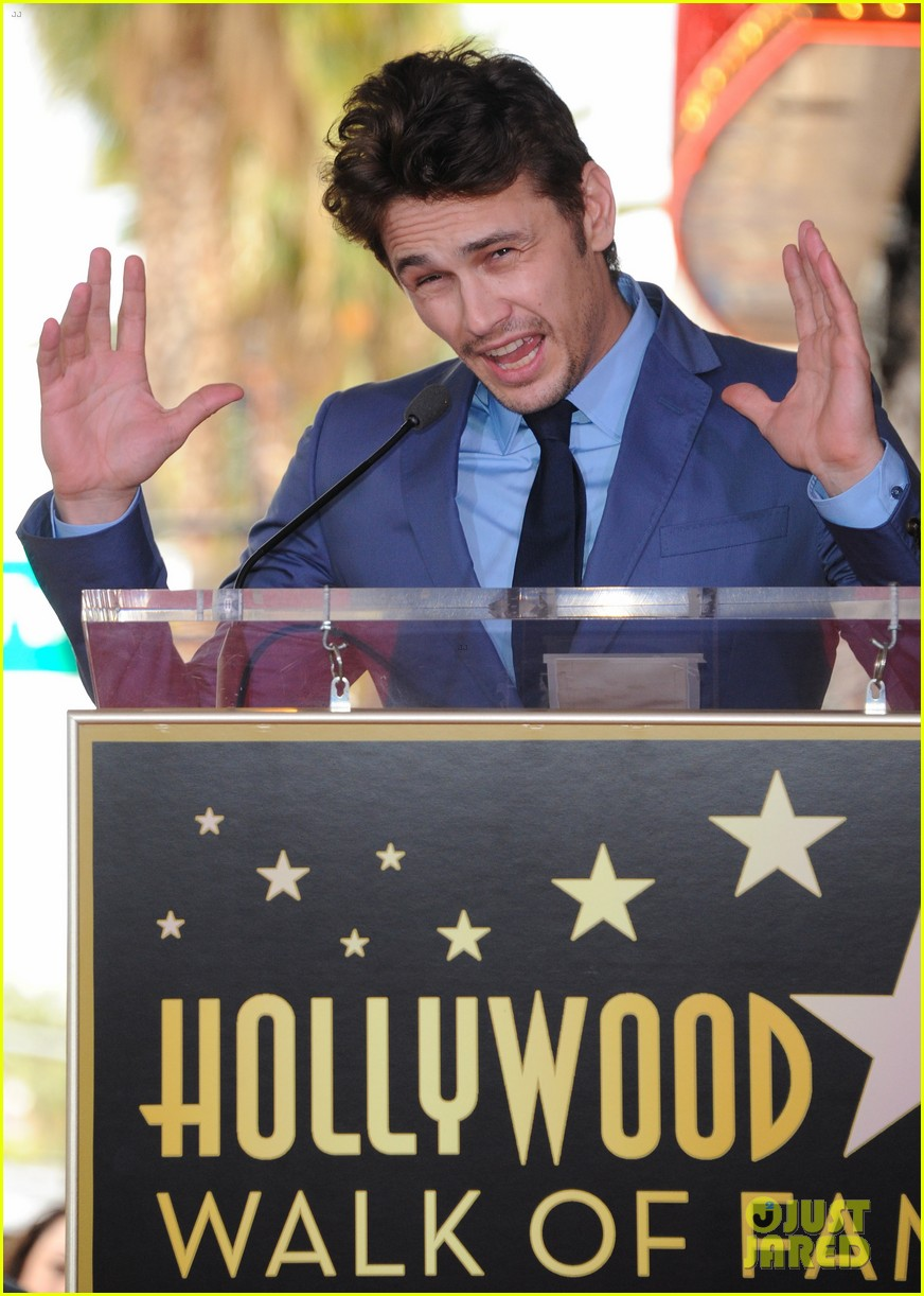 james franco hollywood walk of fame star ceremony 10