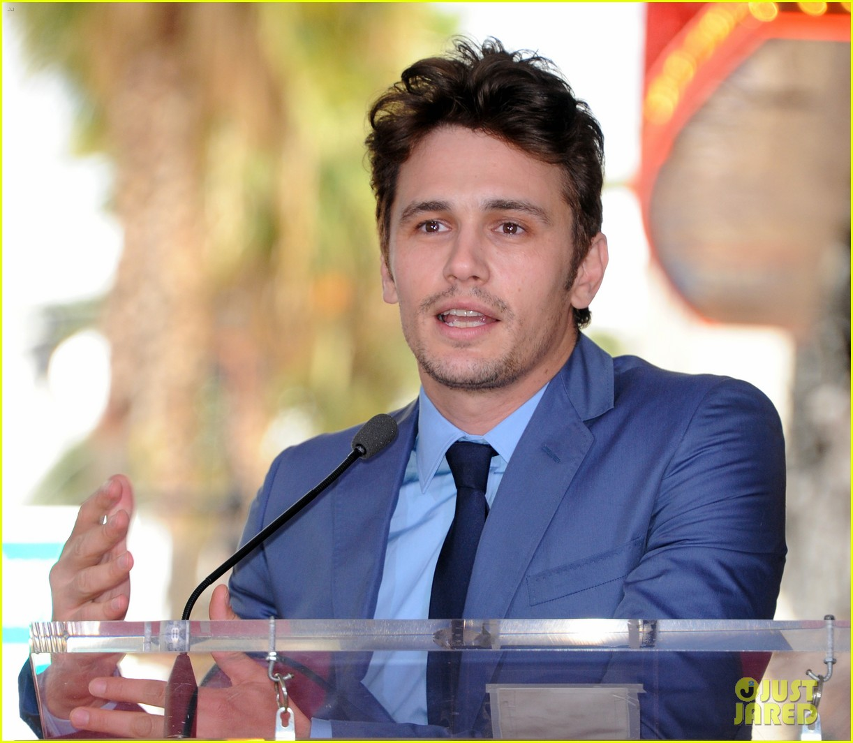 james franco hollywood walk of fame star ceremony 23
