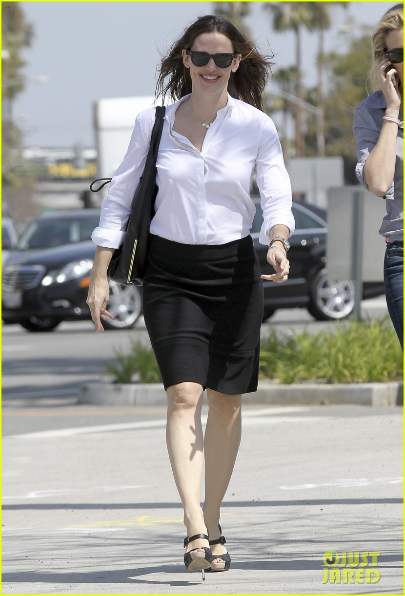 jennifer garner ben affleck violet basketball game 012836810
