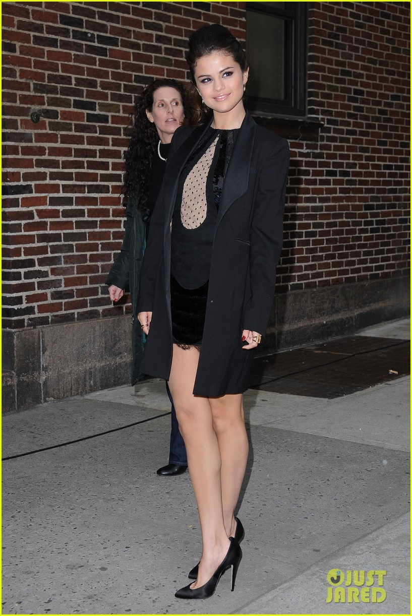 selena gomez late show with david letterman appearance 032832941