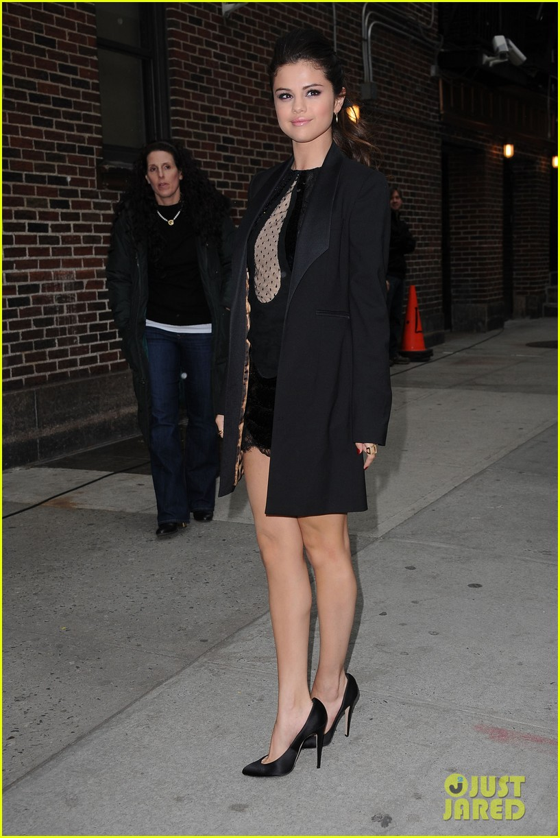 selena gomez late show with david letterman appearance 142832952