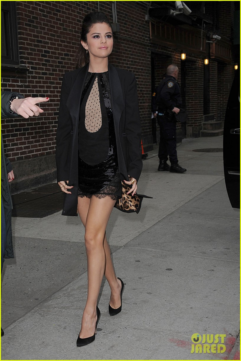 selena gomez late show with david letterman appearance 152832953