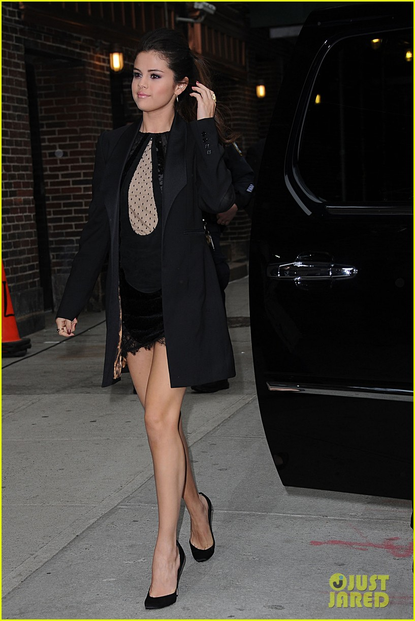 selena gomez late show with david letterman appearance 172832955