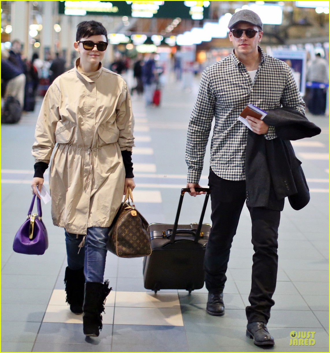 ginnifer goodwin josh dallas easter departing couple 072840370