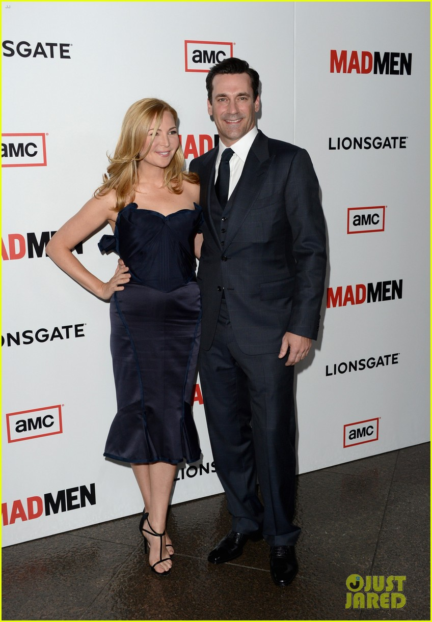 jon hamm vincent kartheiser mad men season 6 premiere 012834708