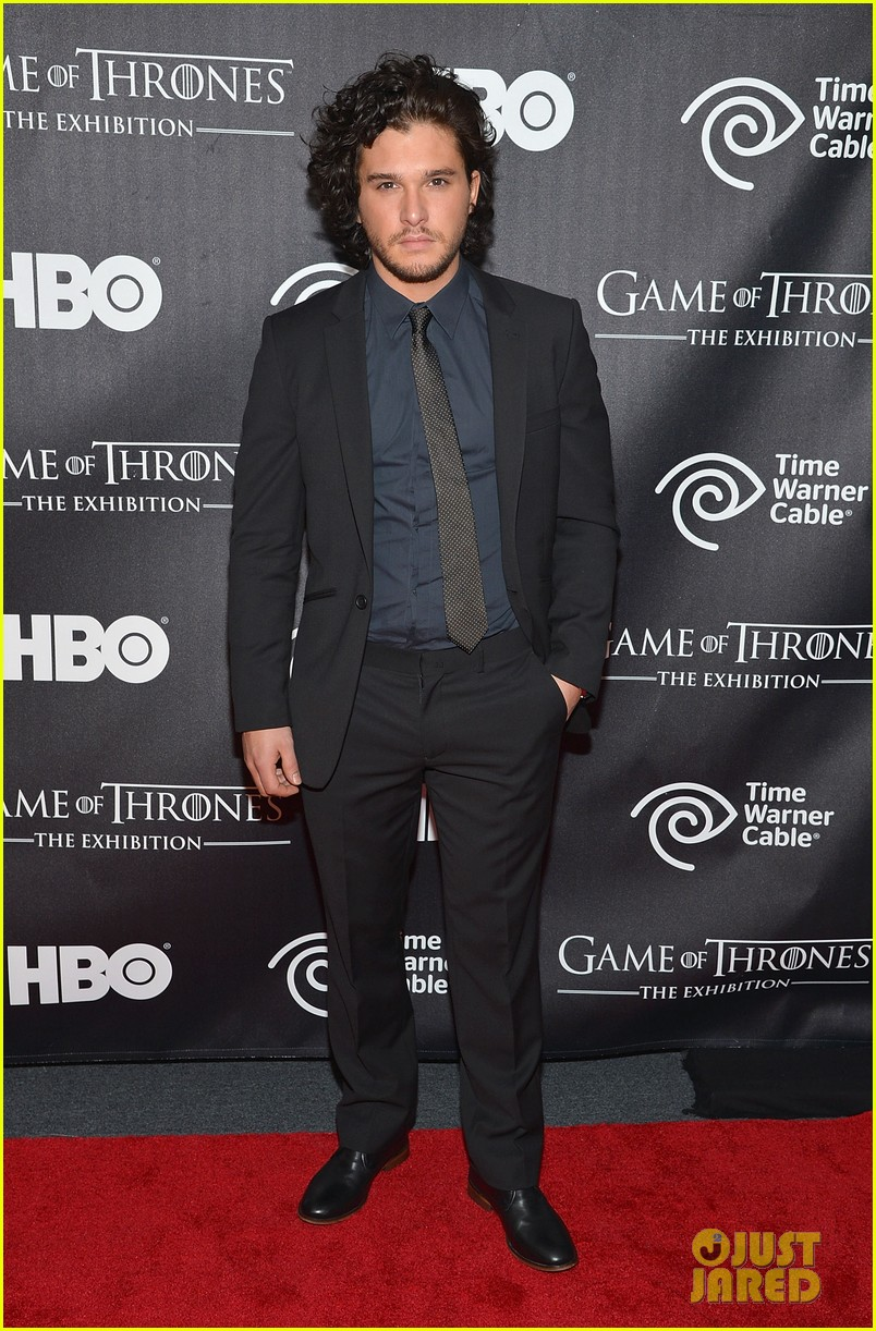 kit harington game of thrones exhibition opening 232838940