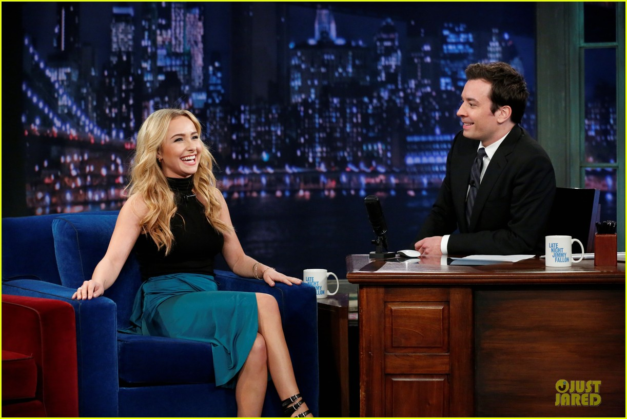 hayden panettiere nashville promotion on fallon 022831479