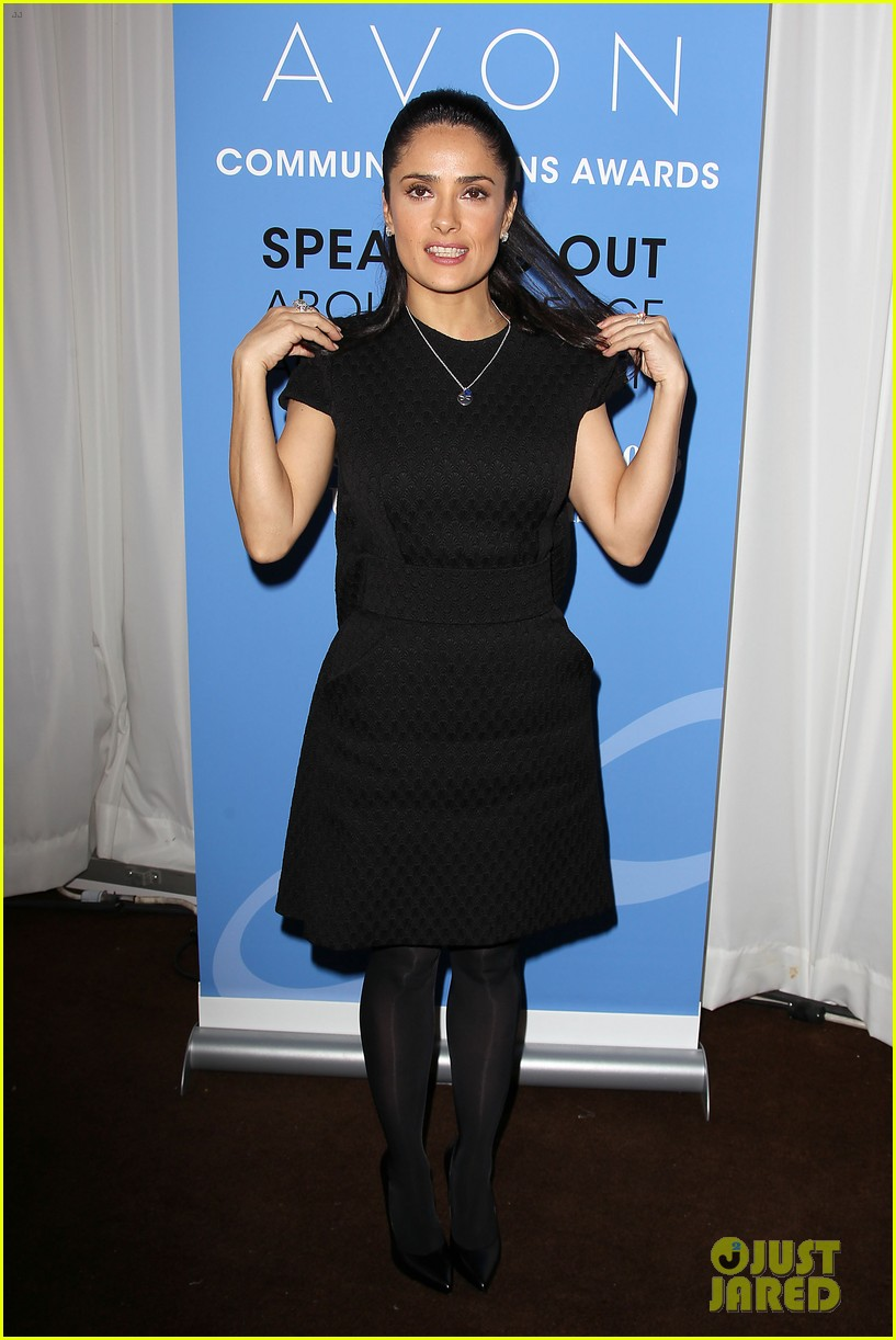salma hayek avon communication awards 2013 122826920