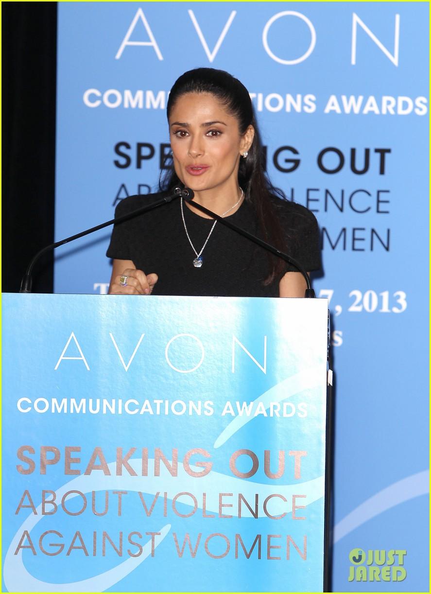 salma hayek avon communication awards 2013 132826921