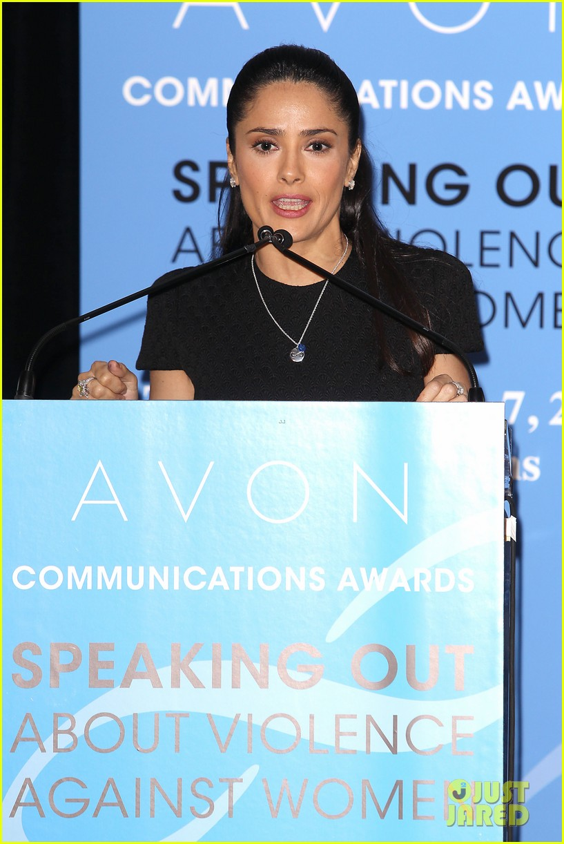 salma hayek avon communication awards 2013 142826922
