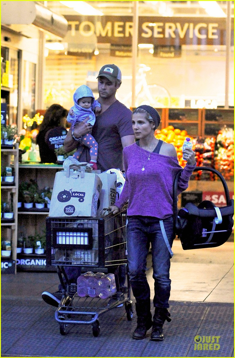 chris hemsworth elsa pataky whole foods family run 012831250