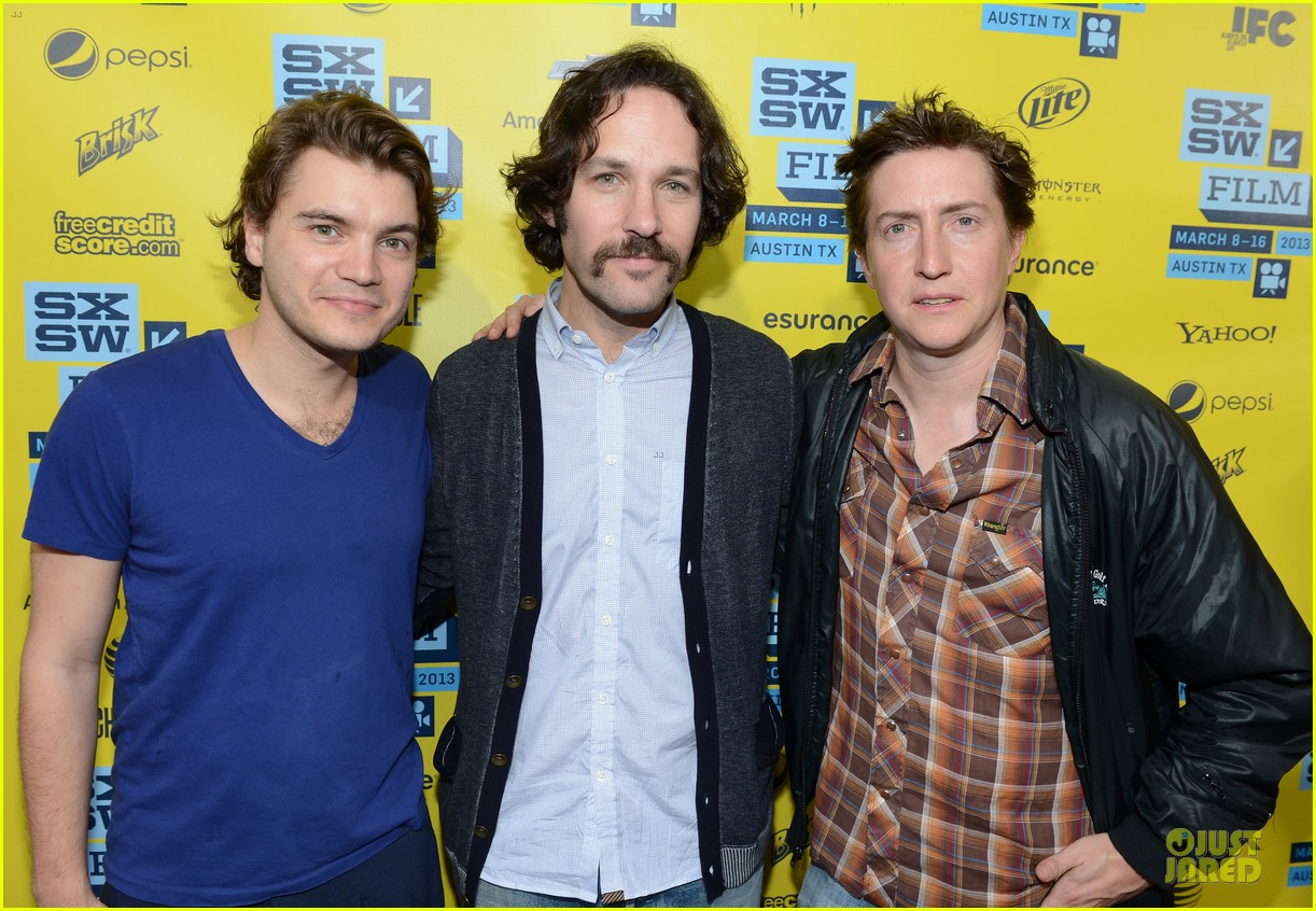 emile hirsch paul rudd prince avalanche sxsw screening 012827968