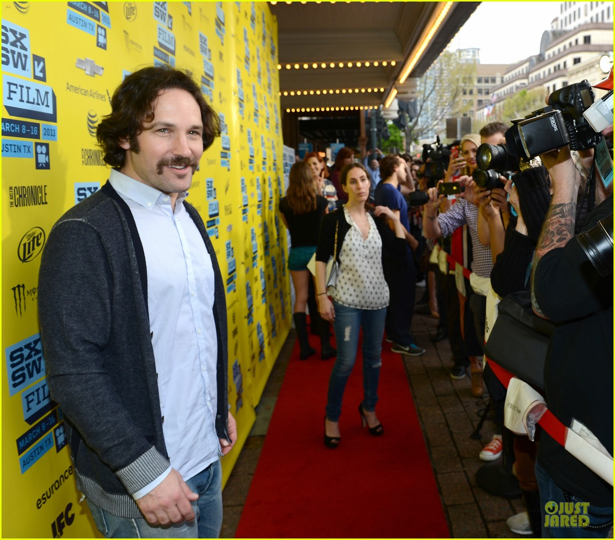 emile hirsch paul rudd prince avalanche sxsw screening 072827974
