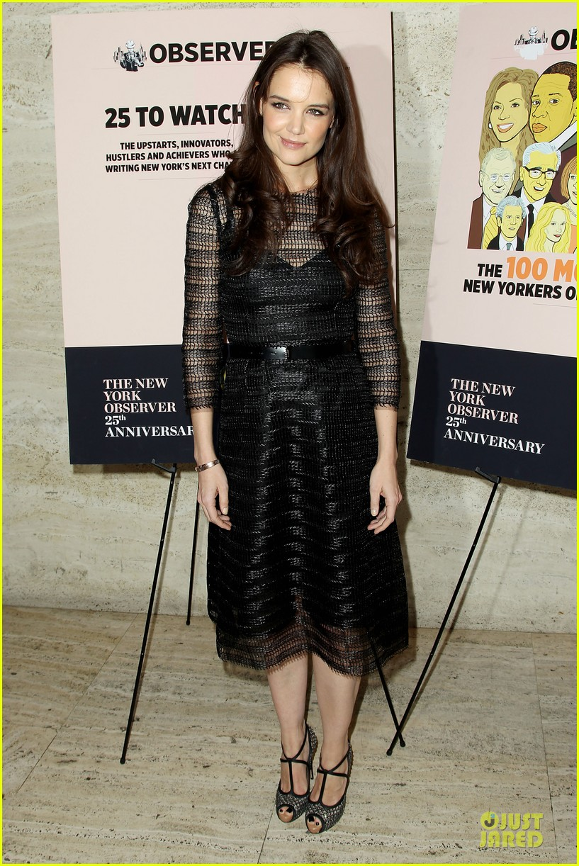 katie holmes new york observer anniversary party 012830941