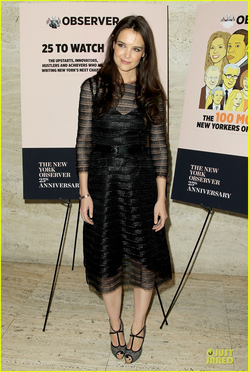 katie holmes new york observer anniversary party 062830946