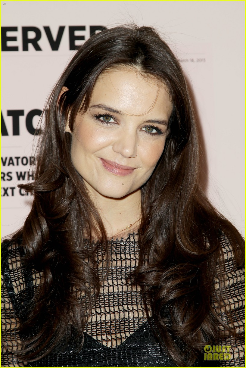 katie holmes new york observer anniversary party 122830952