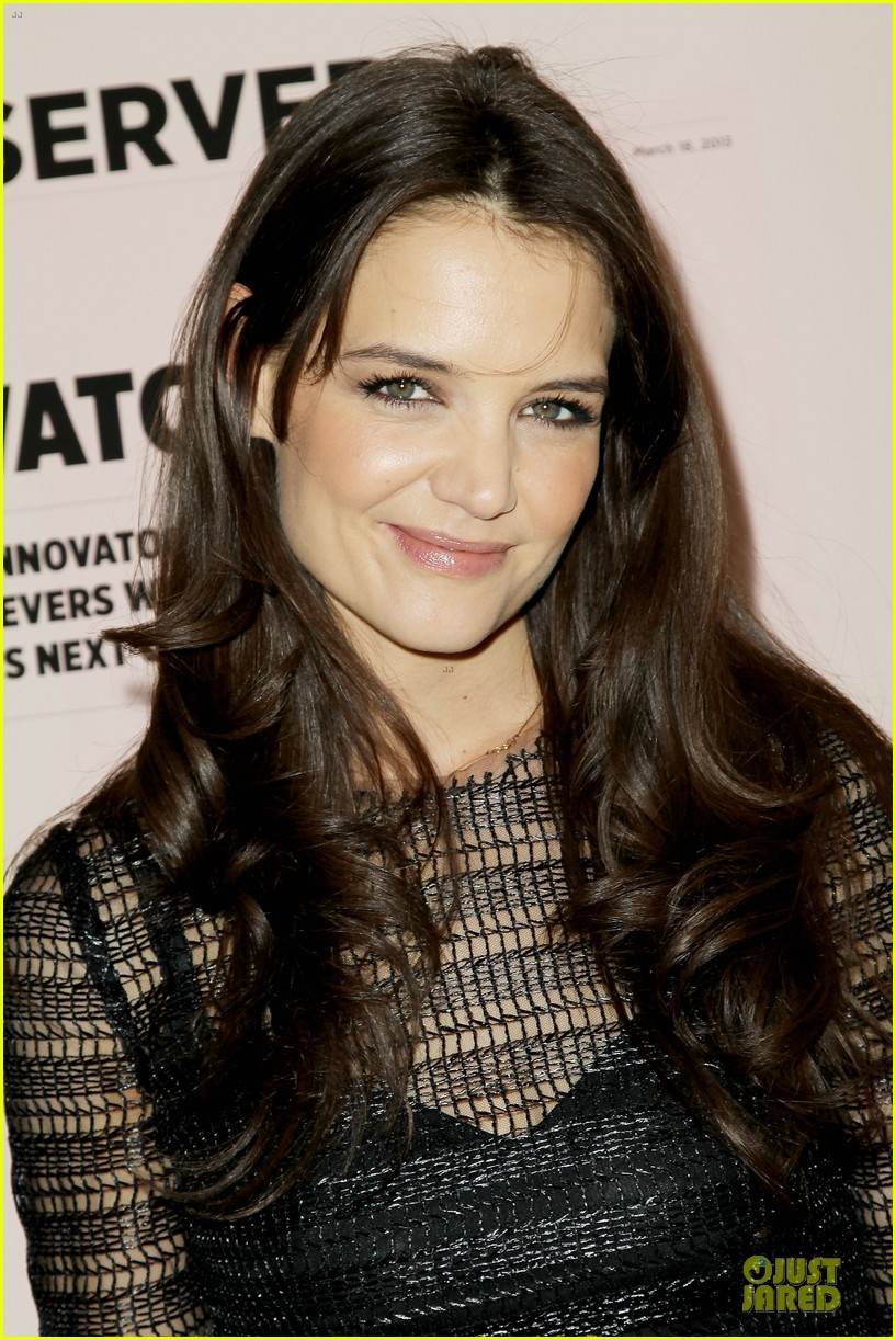katie holmes new york observer anniversary party 14