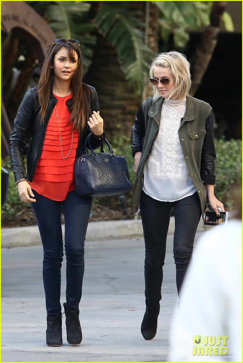 julianne hough post split lakers game with nina dobrev 032832716