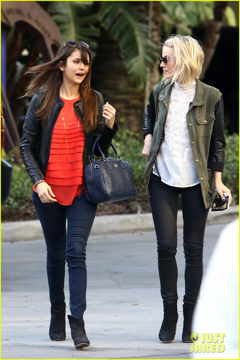 julianne hough post split lakers game with nina dobrev 062832719