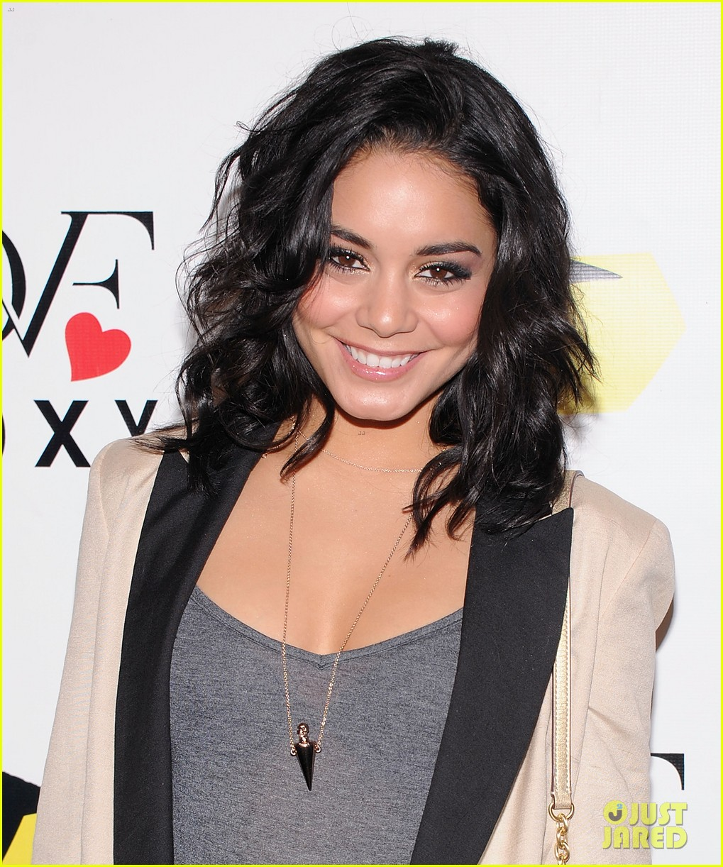 vanessa hudgens dvf loves roxy launch event 072826349