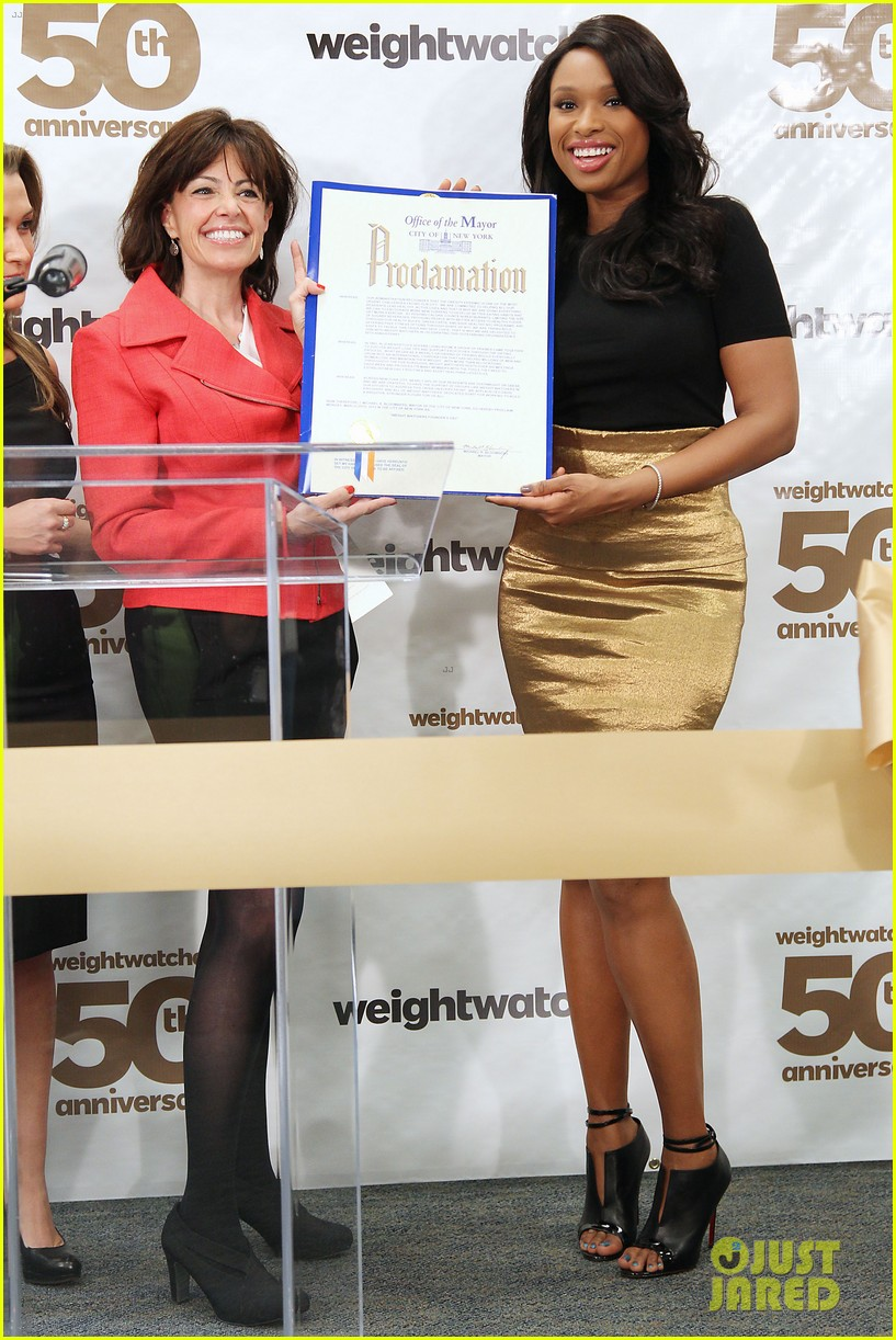 jennifer hudson weight watchers 50th anniversary 052837710