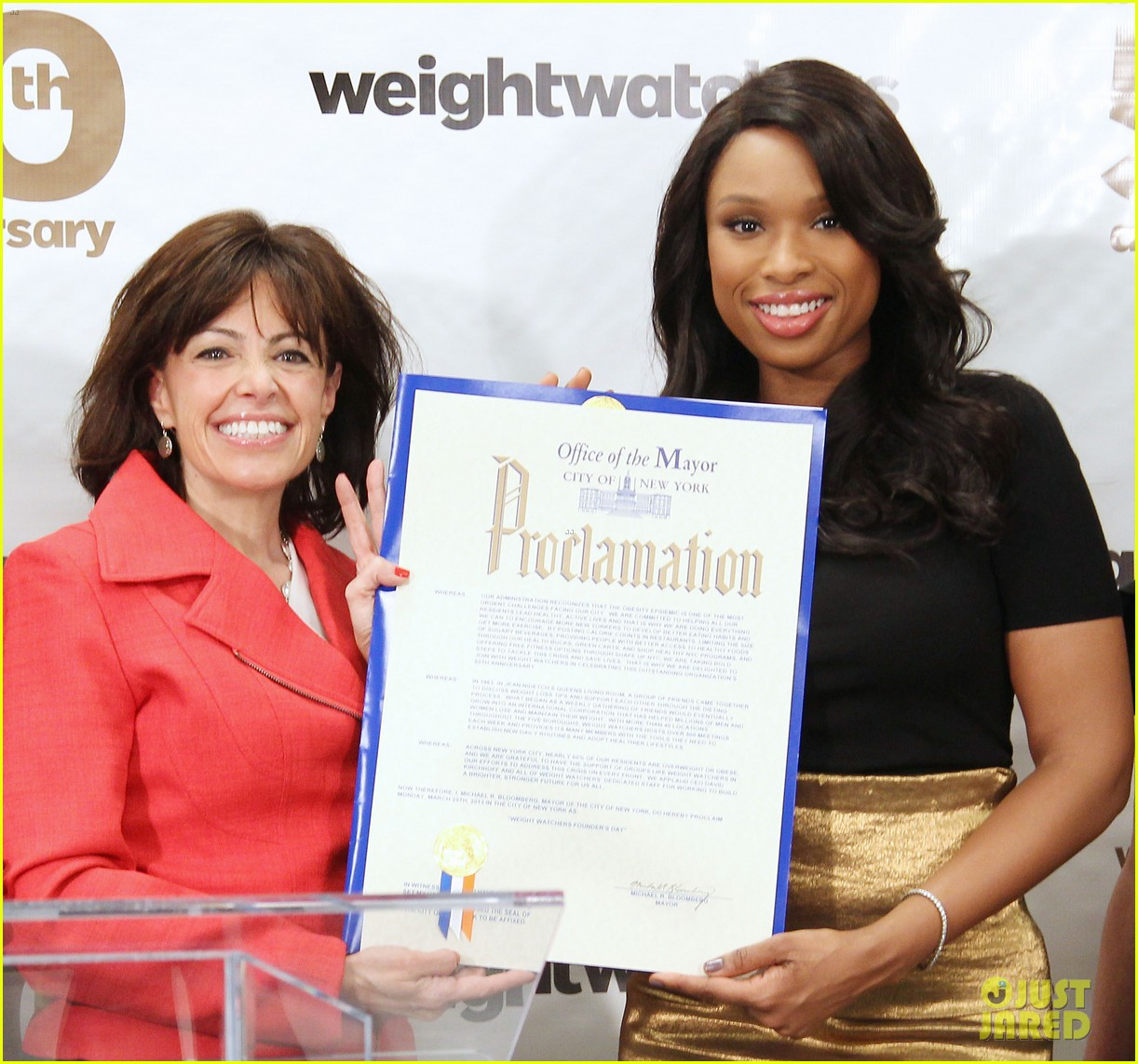 jennifer hudson weight watchers 50th anniversary 10