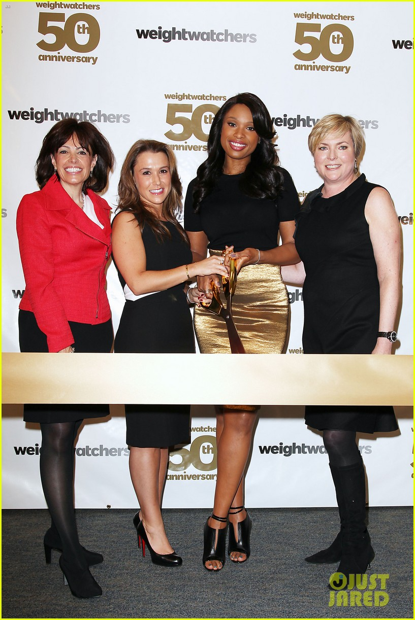 jennifer hudson weight watchers 50th anniversary 11