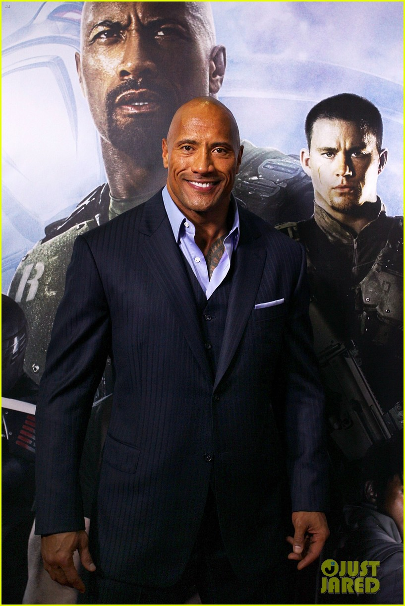 dwayne johnson g i joe 2 retaliation australian premiere 032830357
