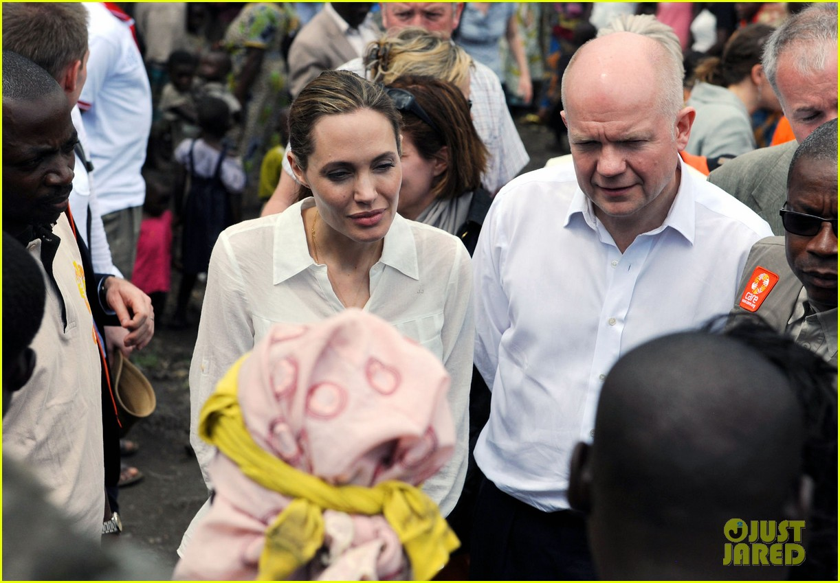 angelina jolie visits rescue camp for women 112838257
