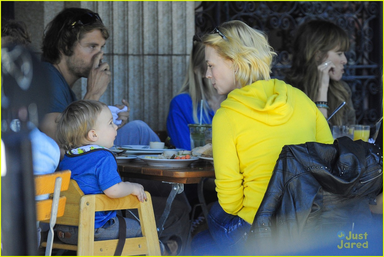 january jones xander le pain quotidien lunch 252825179