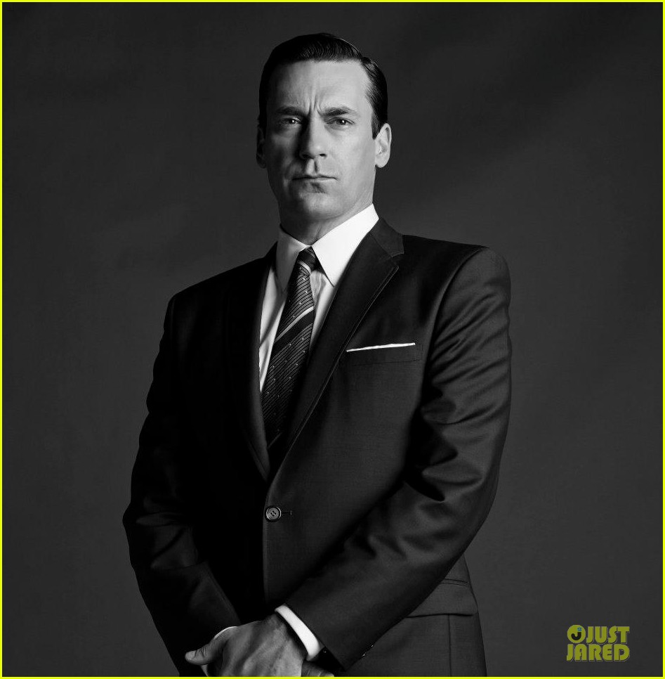 january jones jon hamm mad men season 6 cast portraits 072838000