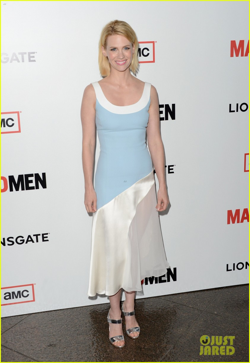 january jones alison brie mad men season 6 premiere 012834790