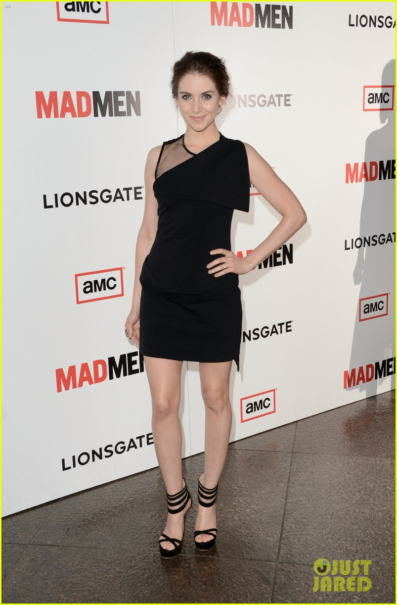 january jones alison brie mad men season 6 premiere 132834802