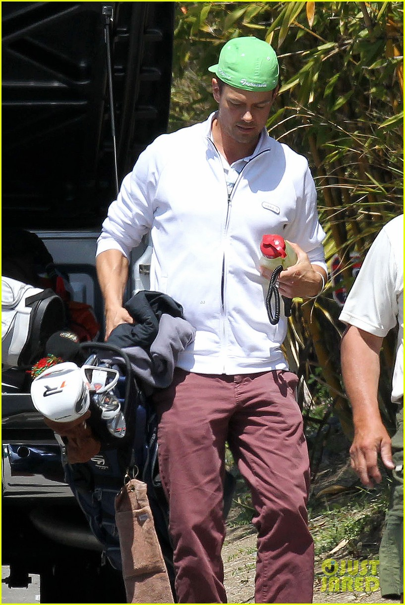josh duhamel fake baby bump with pregnant fergie 042837163