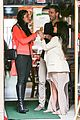 kim kardashian atlanta landing for temptation premiere 12