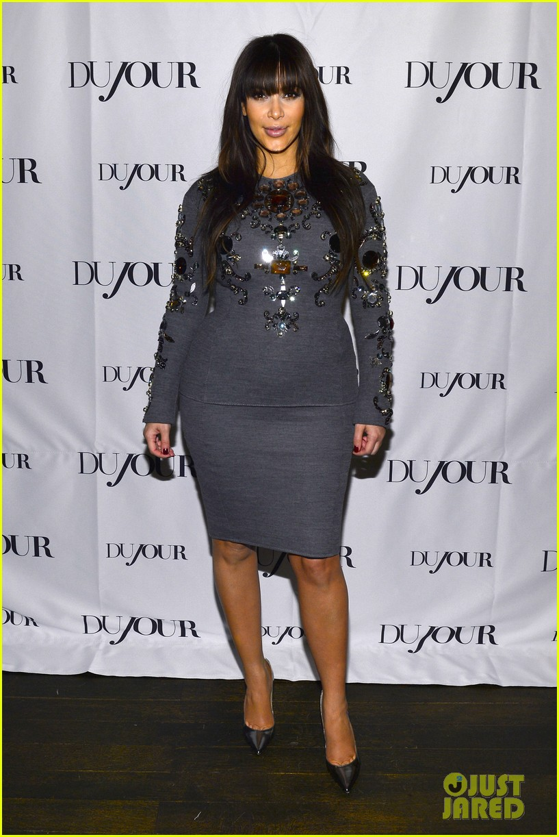 kim kardashian dujour magazine celebration 01