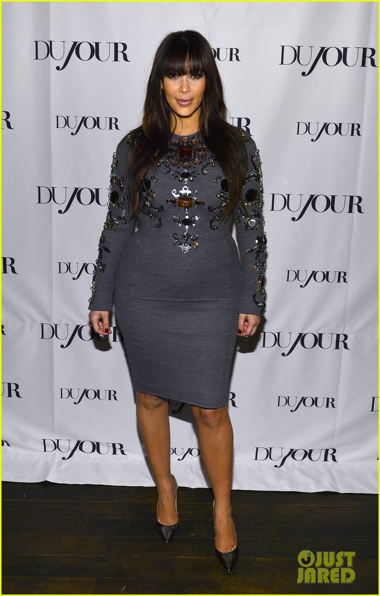 kim kardashian dujour magazine celebration 07