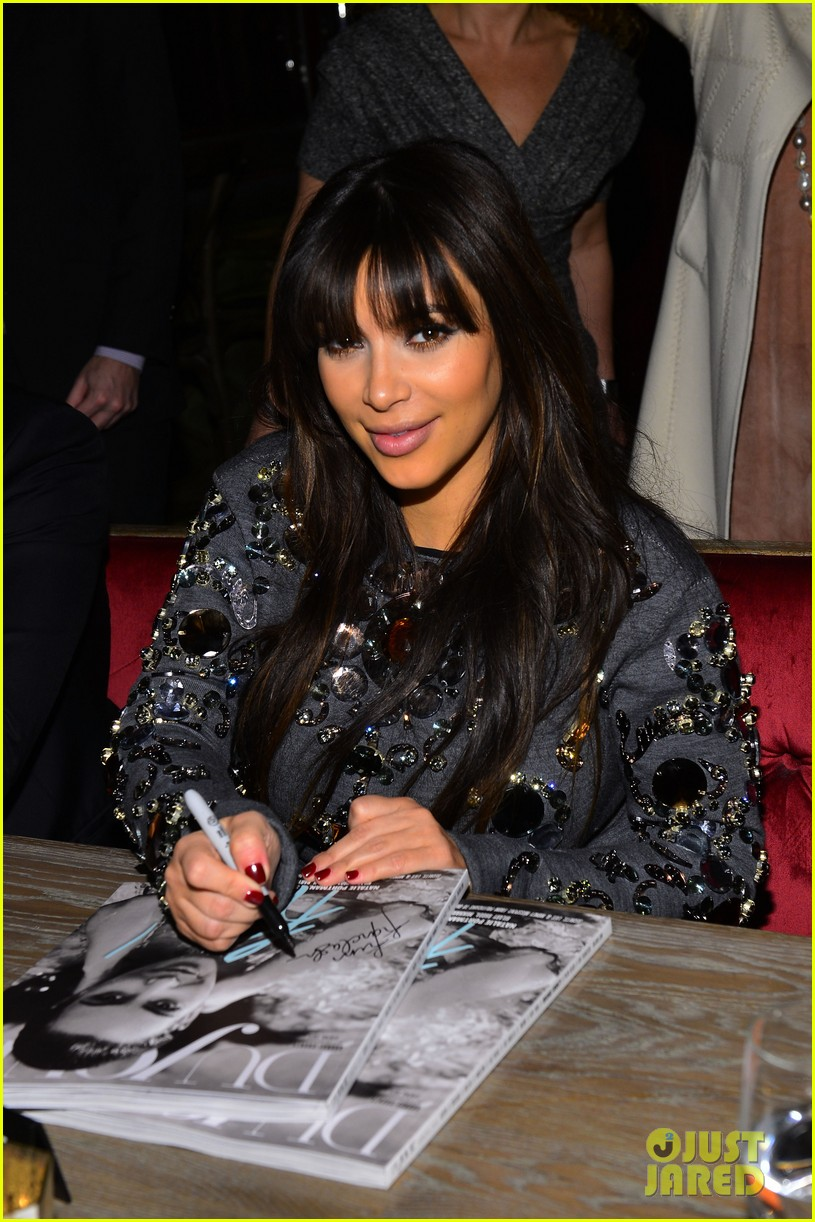 kim kardashian dujour magazine celebration 09